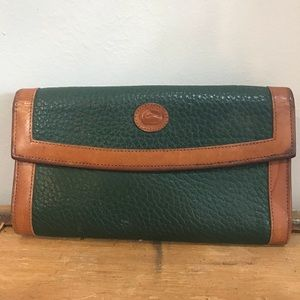 Dooney and Bourke Vintage Green Wallet